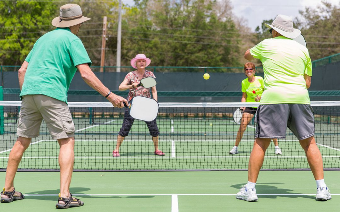 Stay Competitive & Injury Free on the Pickleball Courts with Physical Therapy