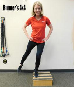 Runners 4x4 exercise Impact PT